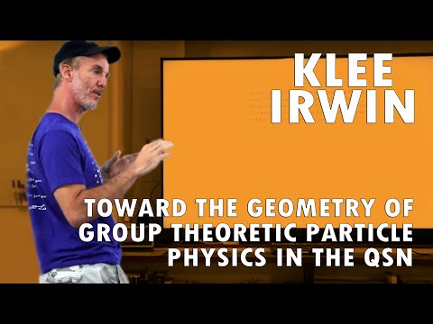 Toward the Geometry of Group Theoretic Particle Physics in the QSN by Klee Irwin