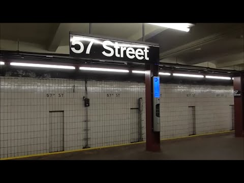 IND 6th Avenue Line: 57th Street (R160 E and F trains)