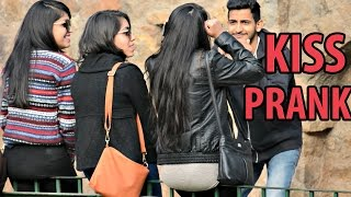 Getting Kisses From Girls Without Talking | Prank in India by AVRprankTV
