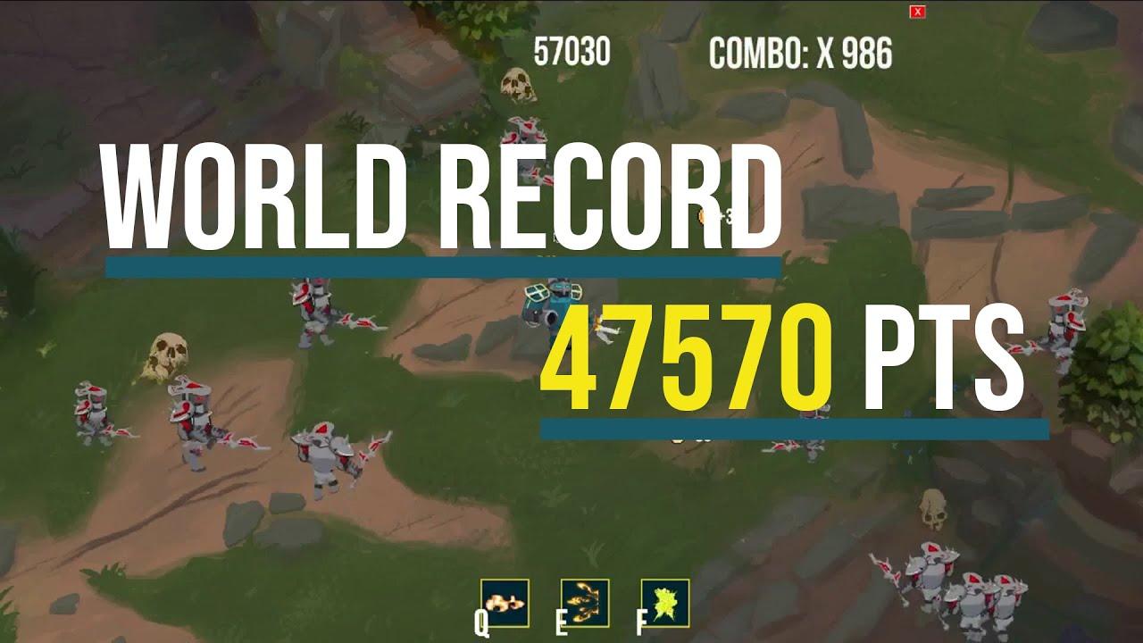 lol dodge game world record World Record LoL Dodge Game