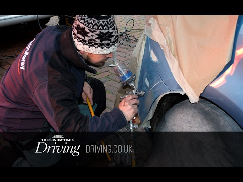 Professional roadside scratch repairs explained