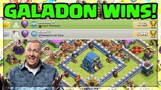 Galadon WINS - Clash of Clans Quest to 7000 - Season 2?