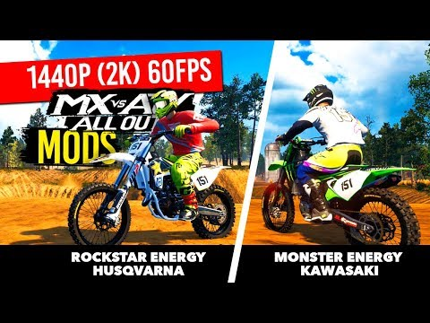 MX vs ATV All Out - New Monster Energy Kawasaki/Honda HRC/And More!
