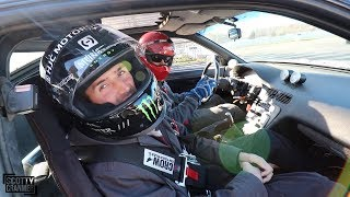 FIRST TIME AT THE DRIFTING TRACK SINCE MY ACCIDENT!