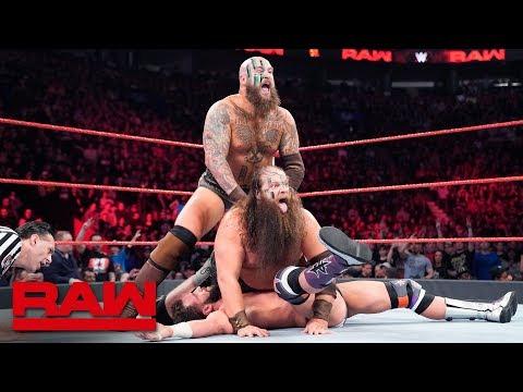 Ryder, Hawkins, Black & Ricochet vs. The Revival & The Viking Experience: Raw, April 15, 2019