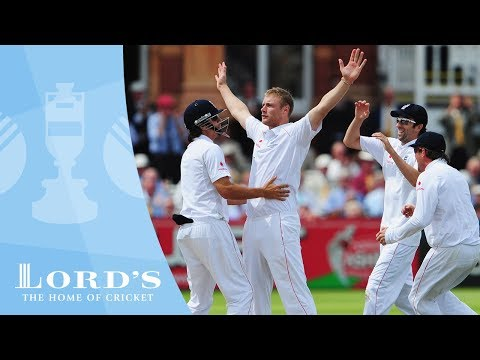 Flintoff's Lord's 5 wicket haul - Lord's 2009 | Greatest Ashes Moments