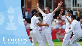 Flintoff's 5 wicket haul - Lord's 2009   Greatest Ashes Moments
