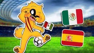 ¡MEXICO VS ESPAÑA! 🇲🇽🏆🇪🇸 ¿QUE EQUIPO GANARÁ ESTE PARTIDO? | MIKECRACK JUEGA FUTBOL AIRCONSOLE