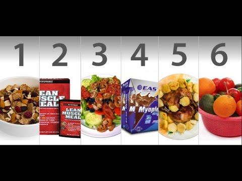 cuantas comidas al dia