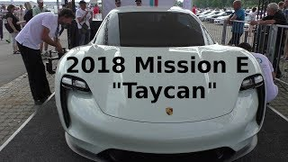 70 Jahre Porsche - Mission E - Porsche Taycan 2018 - 70 years PORSCHE SPORTSCAR TOGETHER