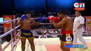 Khmer Boxing, Lao Sinath VS Thai, CTN Boxing, 12 September 2015