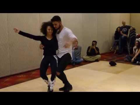 Aline & Charles Zouk Demo - Boston  Brazilian Dance Festival