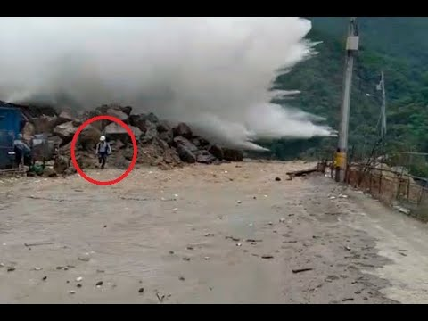 Video capta momento exacto de nueva emergencia en túnel de Hidroituango | Noticias Caracol