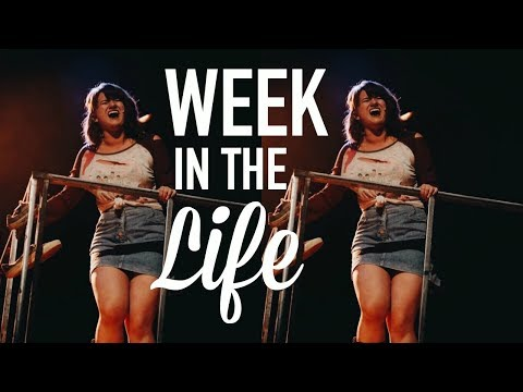 A WEEK IN THE LIFE OF A THEATRE MAJOR | Michelle and Aline V