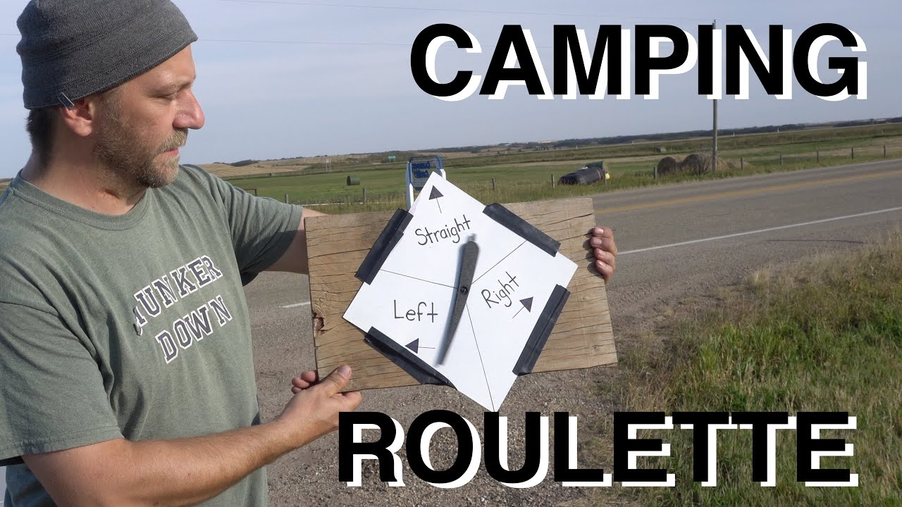 Camping Roulette & EnChroma Color Blindness Glasses Reaction