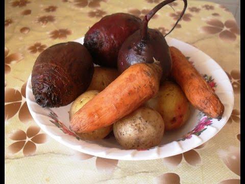 Овощи в мультиварке в режиме овощи