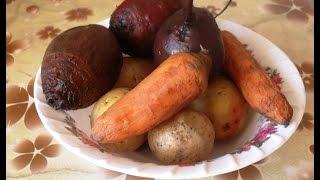 Винегрет . Как сварить овощи в мультиварке на пару