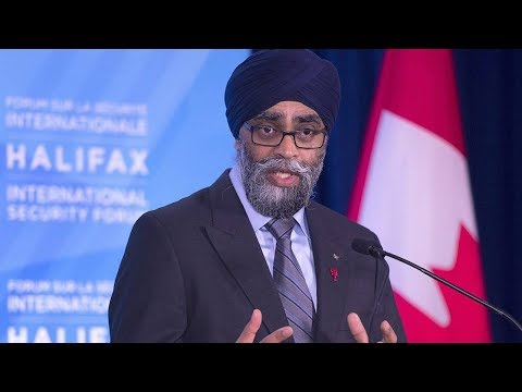Sajjan says partnerships are 'crucial' for global security