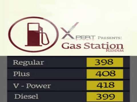Gas Station Riddim Mix - Threeks (Superstar,Nekoyan Bain,Mr. Gold'N) Soca 2013