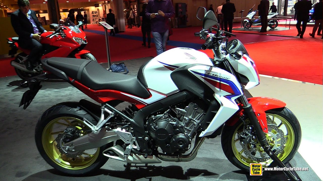 2015 honda cb650f abs tricolore walkaround 2014 paris. Black Bedroom Furniture Sets. Home Design Ideas