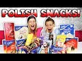 TRYING SNACKS FROM POLAND!