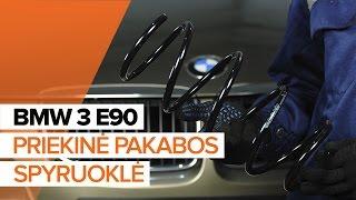 Kaip pakeisti priekinė pakabos spyruoklė BMW 3 E90 PAMOKA   AUTODOC