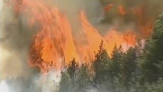 В Сибири начались лесные пожары (новости)(( http://ntdtv.ru )России опять угрожают лесные пожары. С середины апреля их число резко увеличилось. В Туве горят..., 2013-04-21T05:26:50.000Z)
