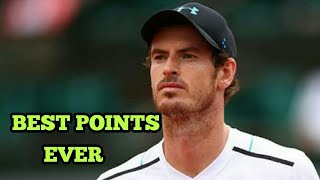 Andy Murray Best Points... [HD]