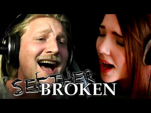 Seether feat. Amy Lee - Broken (Cover by Alina Lesnik feat. Rob Lundgren)