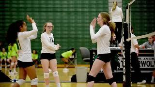 Jackson High School JV Volleyball: 2019