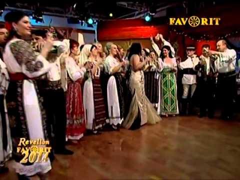 REVELION 2014 FAVORIT TV-Silvana Riciu prezentator-La multi ani azi la zi mare