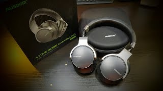 Video AUSDOM ANC8 Active Noise Cancelling Wireless Headphones Super HiFi Deep Bass download MP3, 3GP, MP4, WEBM, AVI, FLV Juli 2018