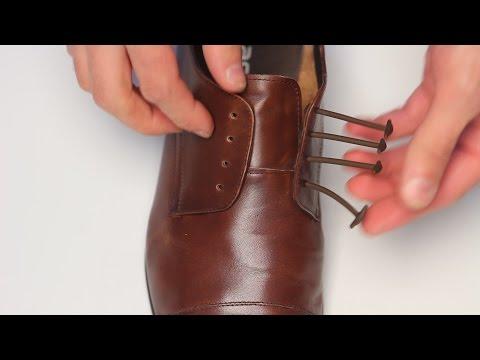 Больше не нужно завязывать шнурки !!! :) АнтиШнурки для классических туфель