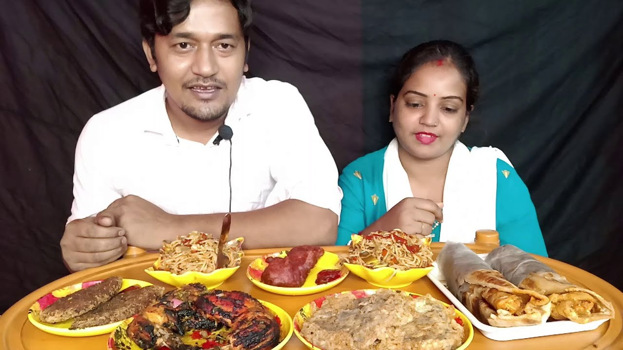 Tasty Eating Show | Full of Spicy Eating | Fish Kabiraji | Chicken Cutlet | Egg Chicken Roll