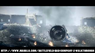 Battlefield: Bad Company 2 Walkthrough - Chapter 5: Snowblind Part 1 HD