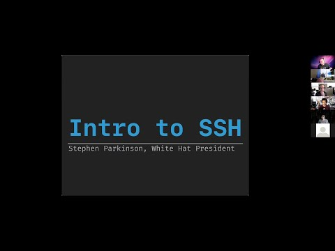 Intro to SSH