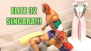WWE ACTION INSIDER: Elite 32 SINCARA Mattel E32 Wrestling Figure Toy Review!
