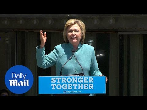 Hillary Clinton blasts Trump's business record in Atlantic City - Daily Mail