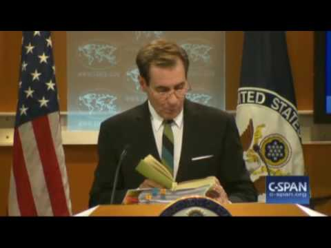 John Kirby Last Briefing State Dept Jan 19 2017