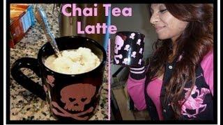 Diy  Chai Tea Latte ...easy!!