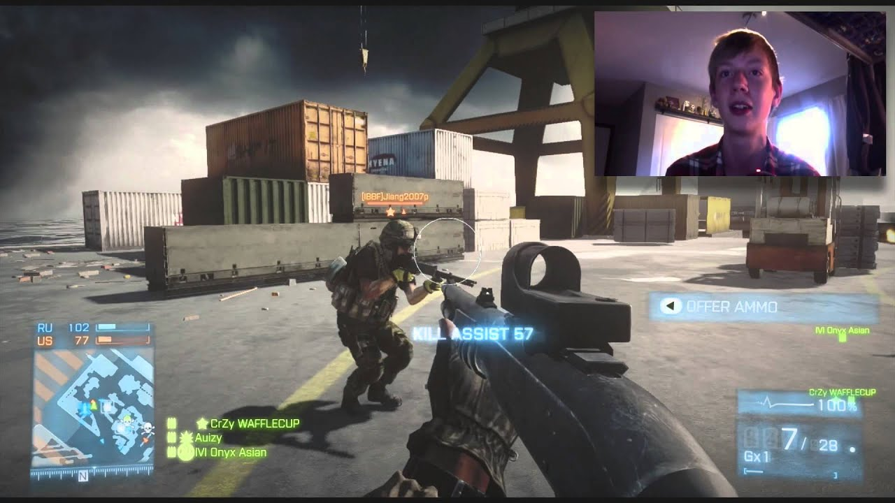 dirty hairy!!? (bf3) - youtube