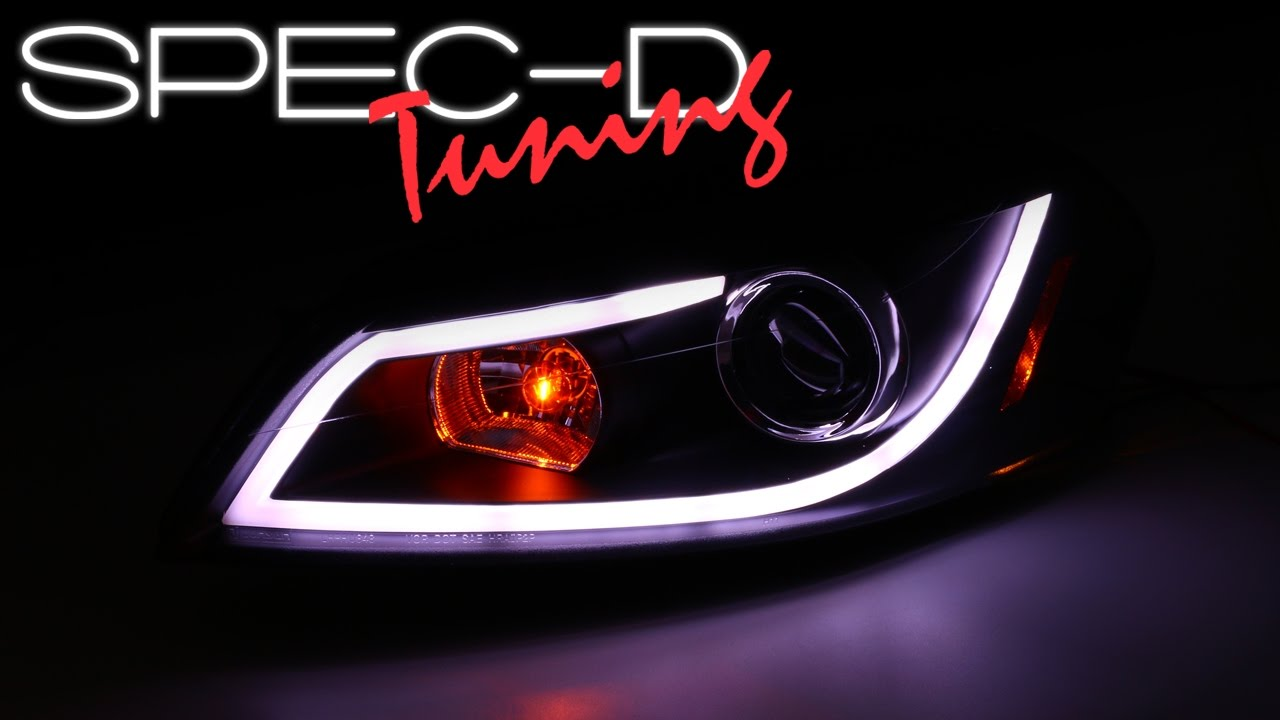Specdtuning Demo Video 2006 2007 Chevy Monte Carlo Led Drl Projector Headlights