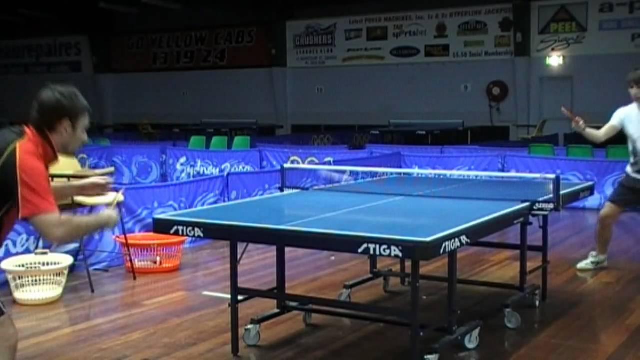 Amazing Table Tennis Rally Tricks Tips Butterfly Zlf Tenergy 05 Fx Youtube