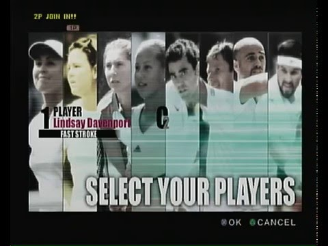 """Smash Court Tennis Pro Tournament"" (Playstation 2) gameplay, no commentary"