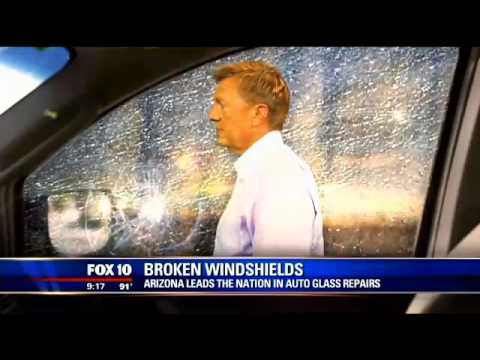 Broken windshields: Arizona leads the nation in glass repair