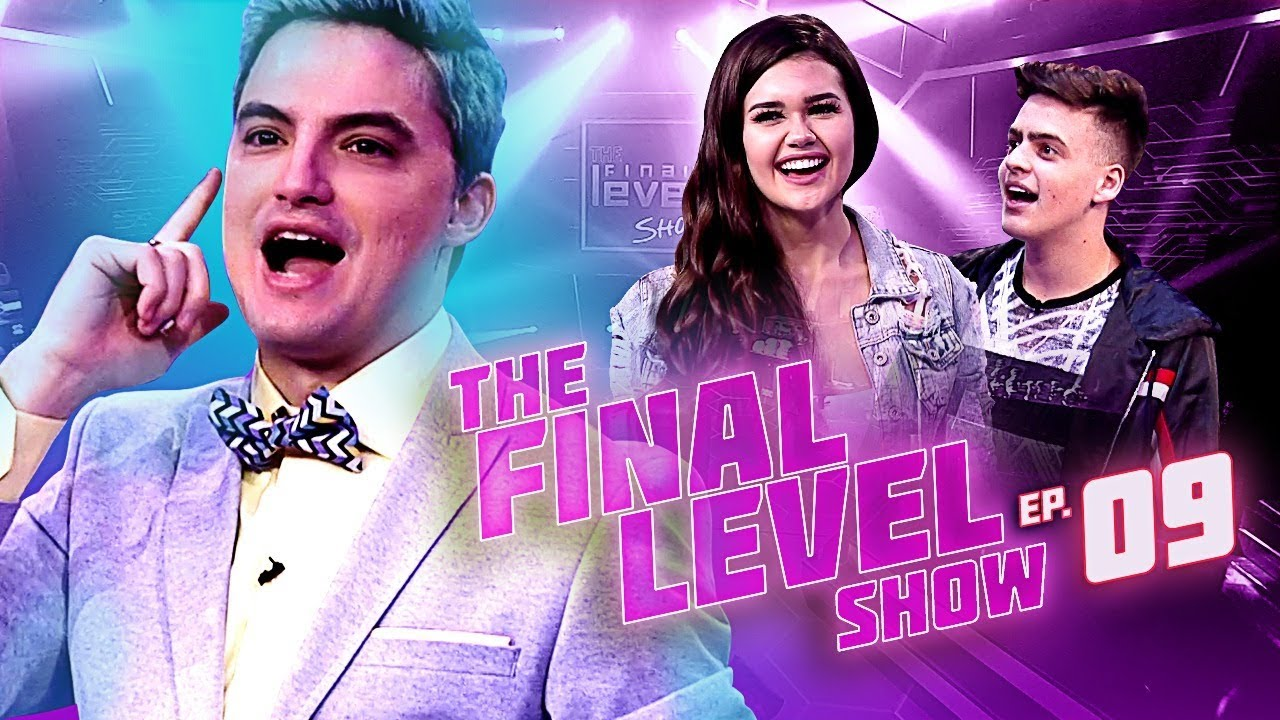 JON VLOGS X FRANCINY EHLKE - FELIPE NETO EM THE FINAL LEVEL SHOW EP.9