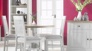 Annecy White Painted Living And Dining Room Furniture