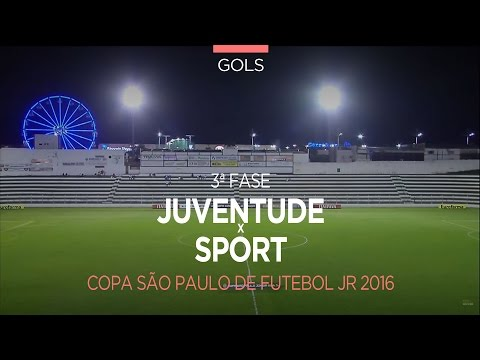 Gol - Juventude 0 x 1 Sport - Copa São Paulo - 13/01/2016