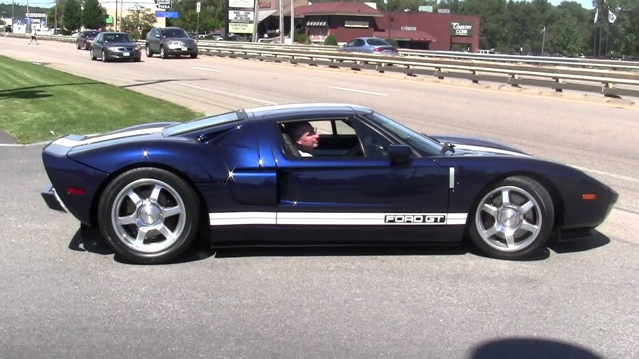 Fhd Ford Gt Incredible Acceleration Sound Youtube