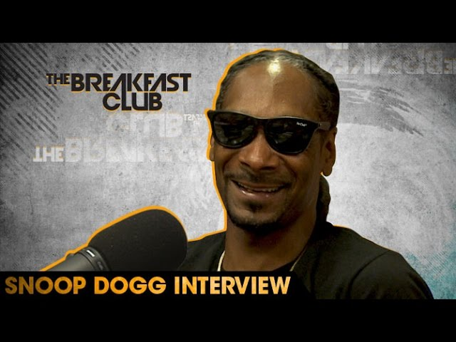 Snoop Dogg Discusses Forgiving Suge Knight, What Strain Of Marijuana Is Too Strong For Him, Coaching Football, Embracing Social Media And Much More With The Breakfast Club.